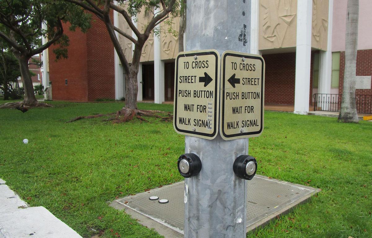 Traffic Operations Pushbutton Design